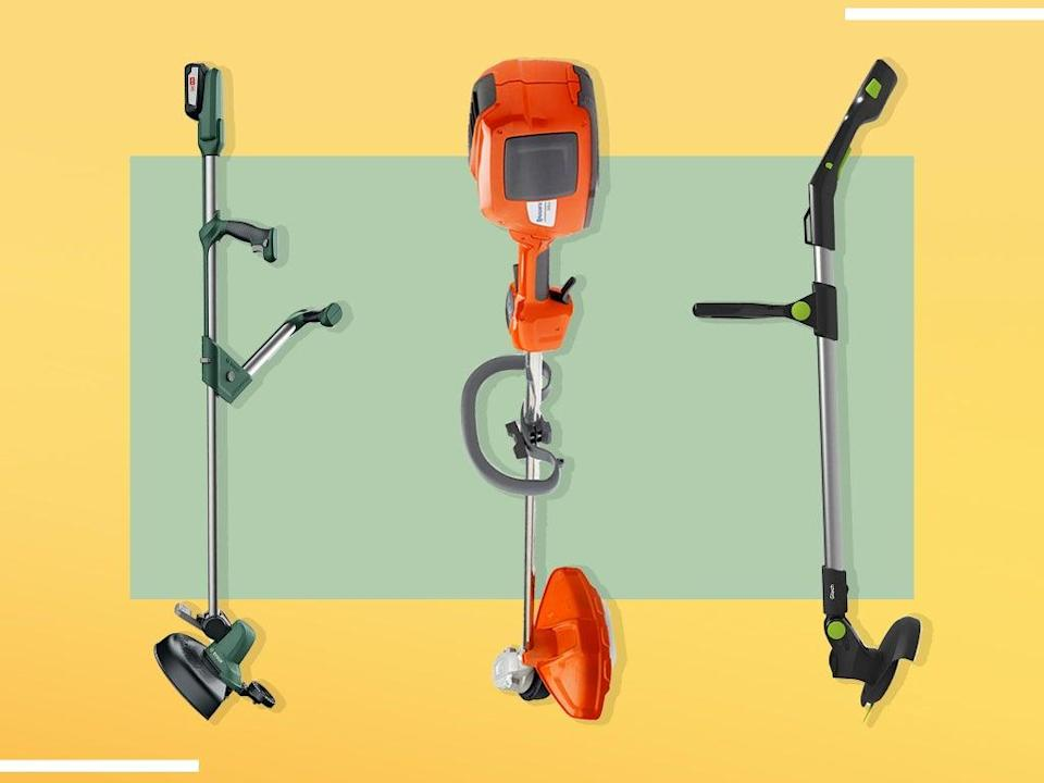 A decent cordless strimmer can be a real game changer – tackling everything from intricate garden borders, to tough patches of weeds on our neglected allotment (iStock/The Independent)
