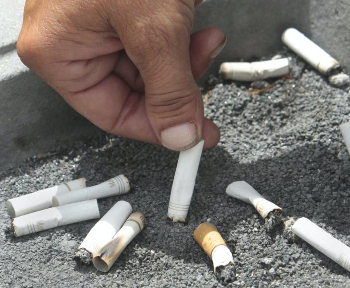 """<span class=""""caption"""">Smoking is a risk factor for chronic diseases.</span> <span class=""""attribution""""><span class=""""source"""">AP Photo/Rich Pedroncelli, File</span></span>"""