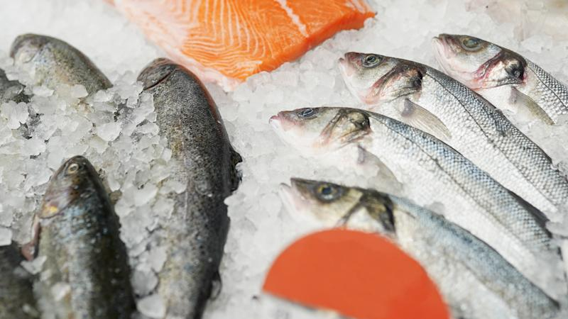 A 22-year-old man may have caught coronavirus while cleaning frozen seafood.