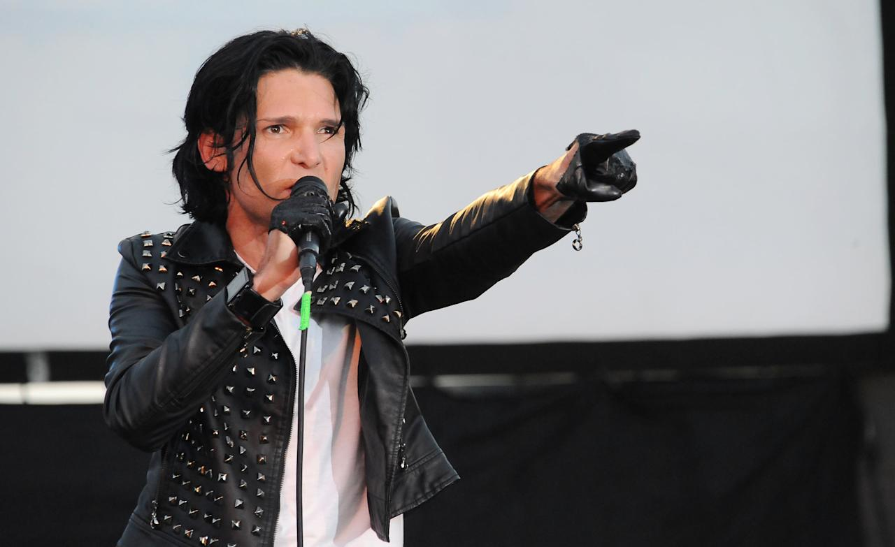 "<p> FILE - In this May 25, 2013 file photo, Corey Feldman performs in Los Angeles. After being widely ridiculed for a music performance on Friday, Sept. 16, 2016, on the ""Today"" show, Feldman is planning a return to the show. Pink, Kesha and Miley Cyrus are among Feldman's celebrity supporters. (Photo by Katy Winn/Invision/AP, File) </p>"