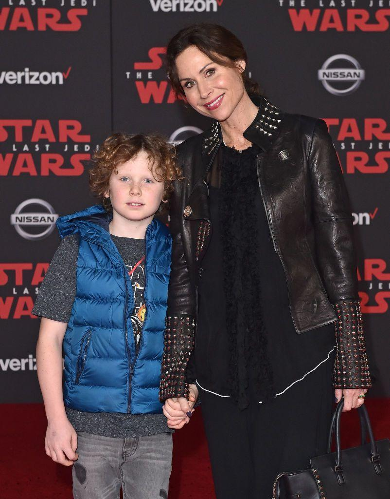 """<p>""""It is really <a href=""""https://www.usmagazine.com/celebrity-moms/pictures/stars-who-are-single-moms-w441471/minnie-driver-w441479/"""" rel=""""nofollow noopener"""" target=""""_blank"""" data-ylk=""""slk:challenging to be by yourself"""" class=""""link rapid-noclick-resp"""">challenging to be by yourself</a>, to be the bread-winner, to make sure your child is having a complete and lovely childhood — and it's all on you, sort of, on the day-to-day.""""</p>"""