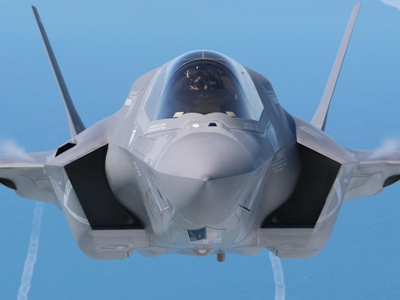 The feared plot is alleged to concern information on the UK's new F-35 stealth jets: Getty