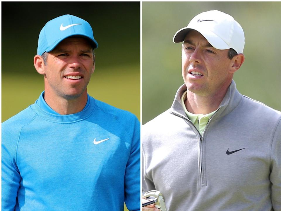 Paul Casey and Rory McIlroy are in a play-off (Richard Sellers/David Davies/PA) (pa)