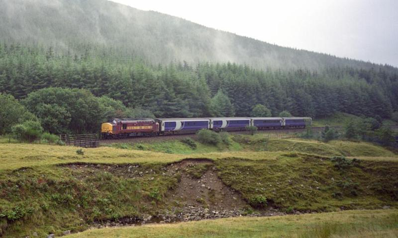 Scotrail's Caledonian sleeper in 2000.