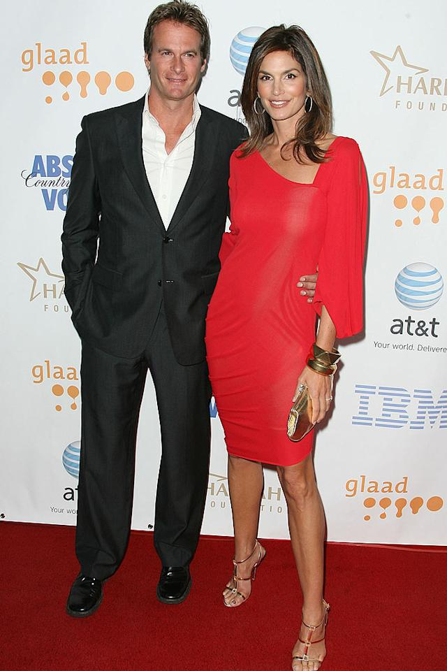 "Don't hate Rande Gerber and his supermodel wife Cindy Crawford because they're beautiful! Jordan Strauss/<a href=""http://www.wireimage.com"" target=""new"">WireImage.com</a> - April 26, 2008"