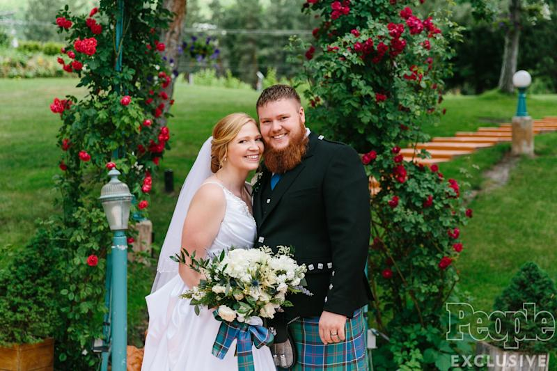 Sister Wives' Aspyn Brown Weds Mitch Thompson in Intimate Outdoor Ceremony — See the Photos