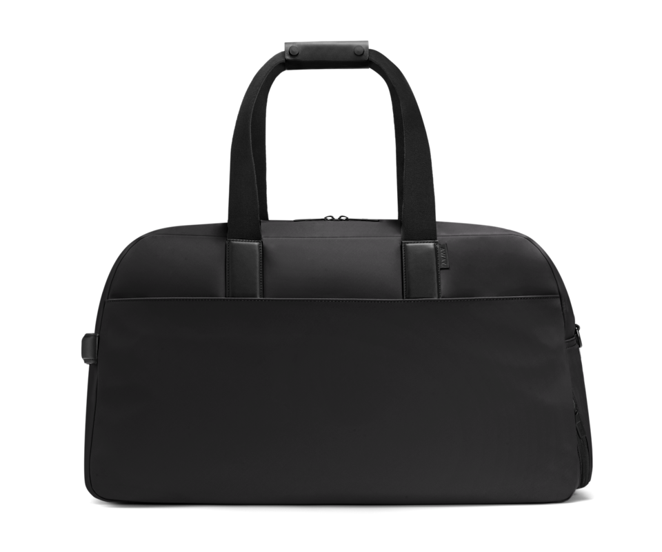 """<p>When staycations and short-haul trips across the Channel become a possibility again, be sure to travel in style with this sleek weekend bag from Away. Extremely versatile, the stylish duffle is designed with organisation in mind, with a shoe compartment, a 15-inch laptop sleeve, as well as many pockets inside and out. The best part is that it secures itself to any medium-sized or large suitcases you might already own from the brand. </p><p>£175, <a href=""""https://www.awaytravel.com/uk/en/travel-bags/weekender/navy-nylon"""" rel=""""nofollow noopener"""" target=""""_blank"""" data-ylk=""""slk:Away Travel"""" class=""""link rapid-noclick-resp"""">Away Travel</a>.</p>"""
