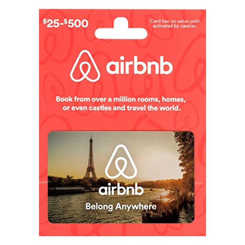 Airbnb Gift Card. (Photo: Amazon)