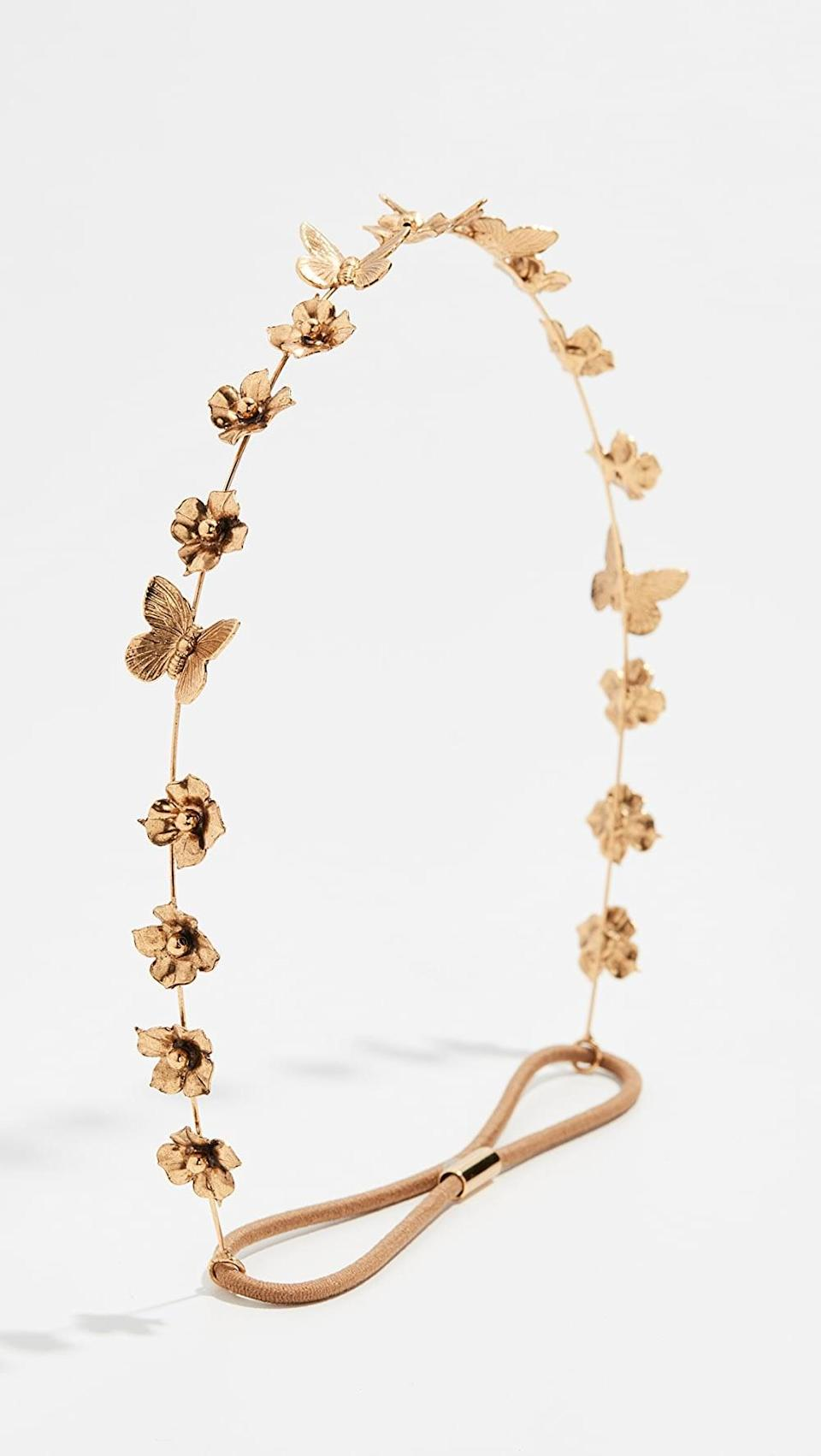 <p>Add a little something extra to their hairstyle with this <span>Jennifer Behr Cressida Circlet Headband</span> ($325).</p>