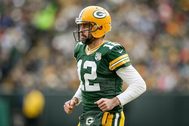 The Packers are switching up their offense this fall for the first time under Aaron Rodgers' leadership. Brett Favre thinks they need to leave Rodgers' game alone. (Dylan Buell/Getty Images)