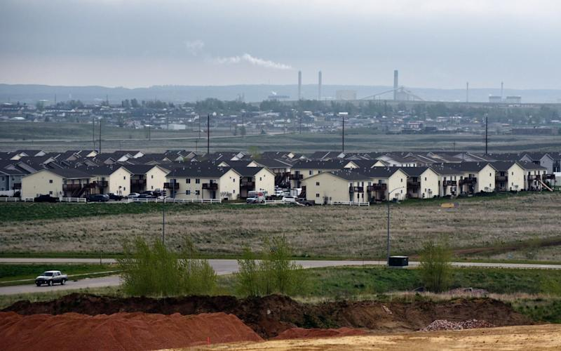 Gillette, Wyoming, where residents hope the revival of the coal industry will reverse their fortunes - Dermot Tatlow