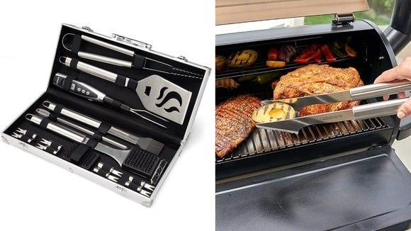 Best Valentine's Day gifts for men: Cuisinart grill set.