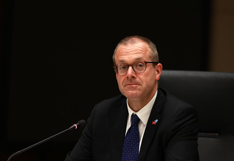 World Health Organization (WHO) Regional Director for Europe Hans Kluge (Getty)