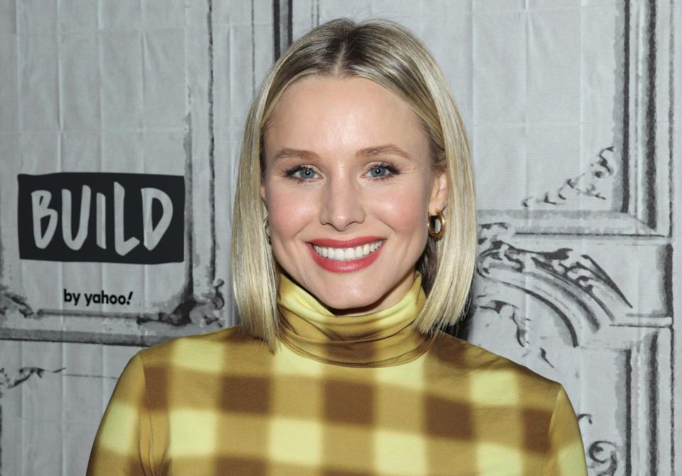NEW YORK, NEW YORK - FEBRUARY 21: Actress Kristen Bell attends the Build Series to discuss her product line Hello Bello at Build Studio on February 21, 2020 in New York City. (Photo by Jim Spellman/Getty Images)