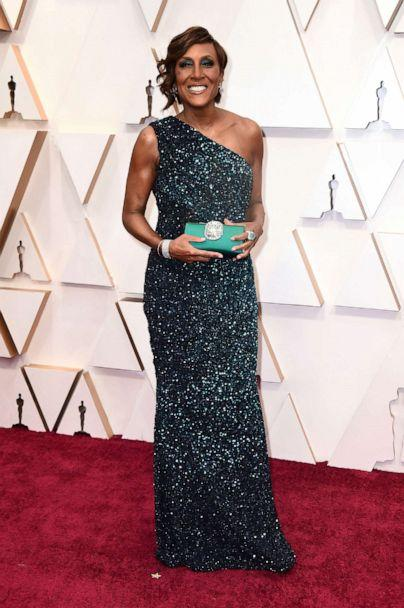 PHOTO: Robin Roberts arrives at the Oscars, Feb. 9, 2020,in Hollywood, Calif. (Jordan Strauss/Invision/AP)