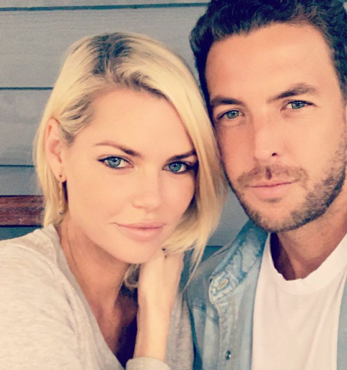 Sophie Monk and Joshua Gross
