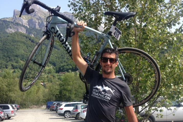 Marc Sutton was shot while mountain biking in the French Alps: Facebook