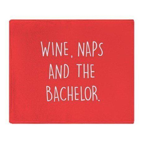 "Get it <a href=""https://www.cafepress.com/+the_bachelor_throw_blanket,182014673"" target=""_blank"">here</a>."