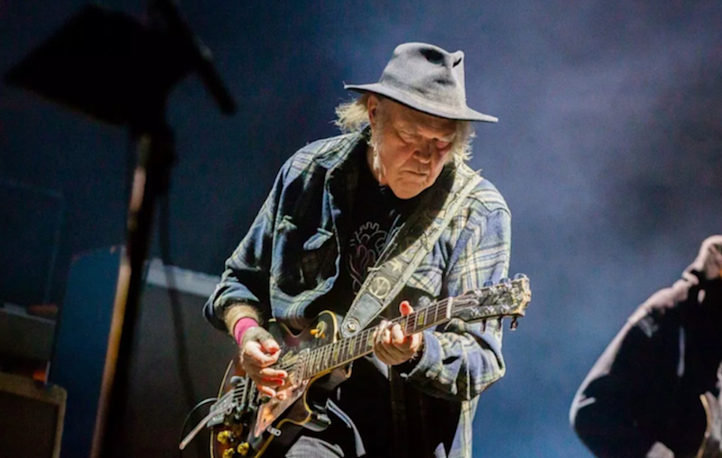 Neil Young's US citizenship application delayed because of his marijuana use