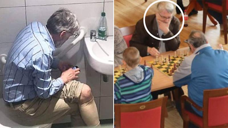 Igors Rausis was caught playing a tournament in Latvia after being found guilty of cheating in 2019. Pic: Chess 24