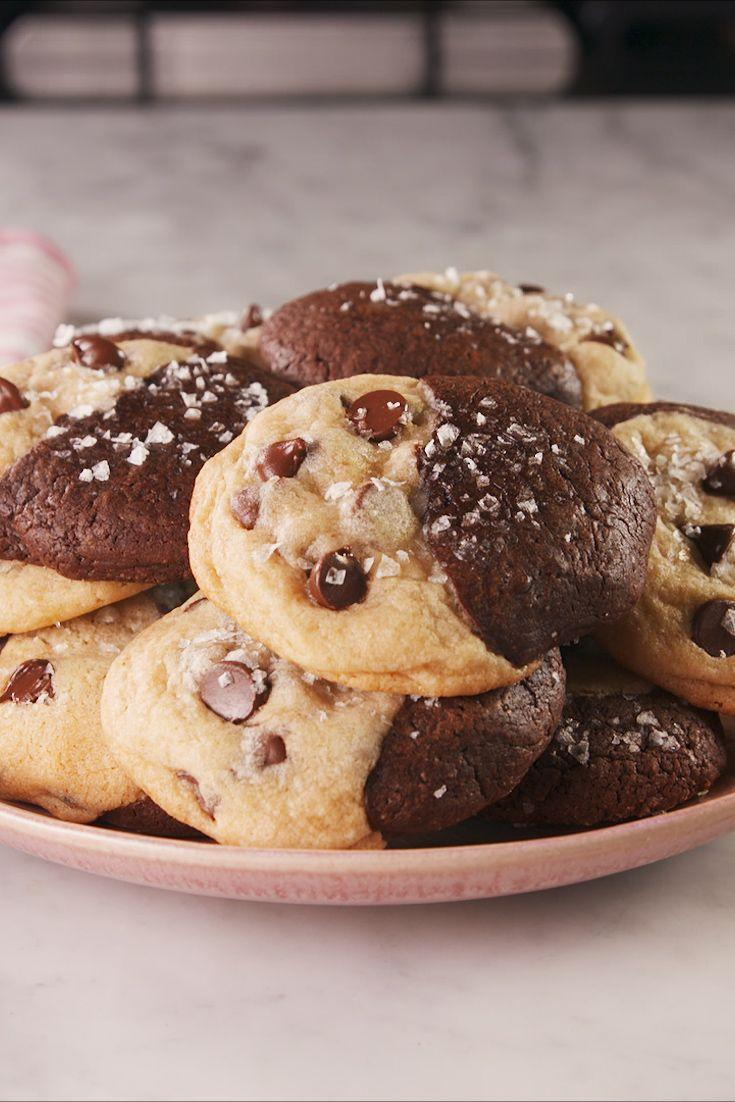 "<p>Half cookie, half brownie, fully delicious.</p><p>Get the recipe from <a href=""https://www.delish.com/cooking/recipe-ideas/a26356161/easy-brookies-recipe/"" rel=""nofollow noopener"" target=""_blank"" data-ylk=""slk:Delish"" class=""link rapid-noclick-resp"">Delish</a>. </p>"