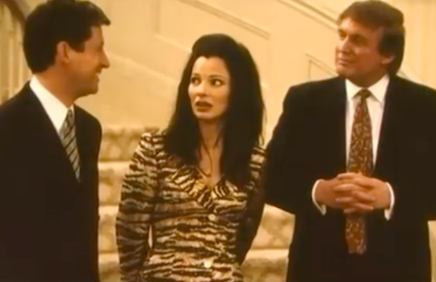 Fran Drescher Says Trump Demanded a Line Be Changed About His Net Worth When He Guest-Starred on 'The Nanny' (Video)