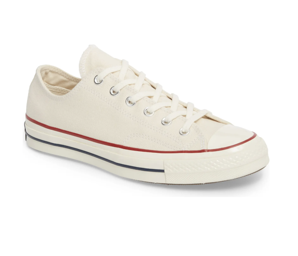 Chuck Taylor 'All Star' 70 Low Top Sneaker in Parchment (Photo via Nordstrom)
