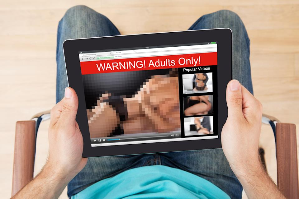It's going to be more difficult to watch porn from April onwards (Getty)