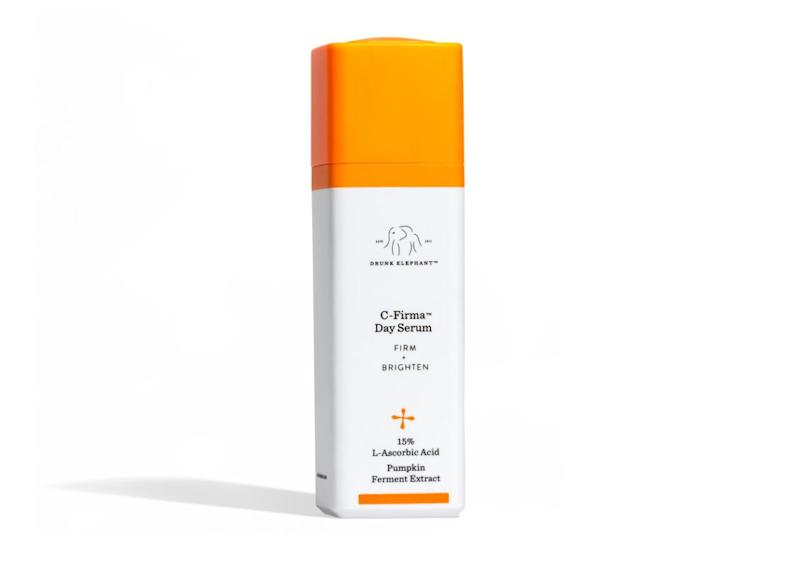"&ldquo;Vitamin C, topical retinol, and sunscreen are what I consider the &lsquo;holy trinity&rsquo; in skin care. I incorporate a vitamin C serum as a quintessential component in my morning skin care regimen,&rdquo; said Rina Allawh, a board-certified dermatologist who practices at <a href=""https://www.montgomery-dermatology.com/"">Montgomery Dermatology</a> in Philadelphia. &ldquo;My top pick is the Drunk Elephant C-Firma Day Serum, containing L-ascorbic acid, pumpkin ferment extract and pomegranate enzyme. This cruelty-free product helps to both exfoliate and brighten the skin. I found that the ingredients are safe, effective and gentle on sensitive, dry and acne-prone skin.&rdquo; &lt;br&gt;&lt;br&gt;<strong>Find it for $80 at </strong><a href=""https://www.sephora.com/product/c-firma-day-serum-P400259""><strong>Sephora.</strong></a>"