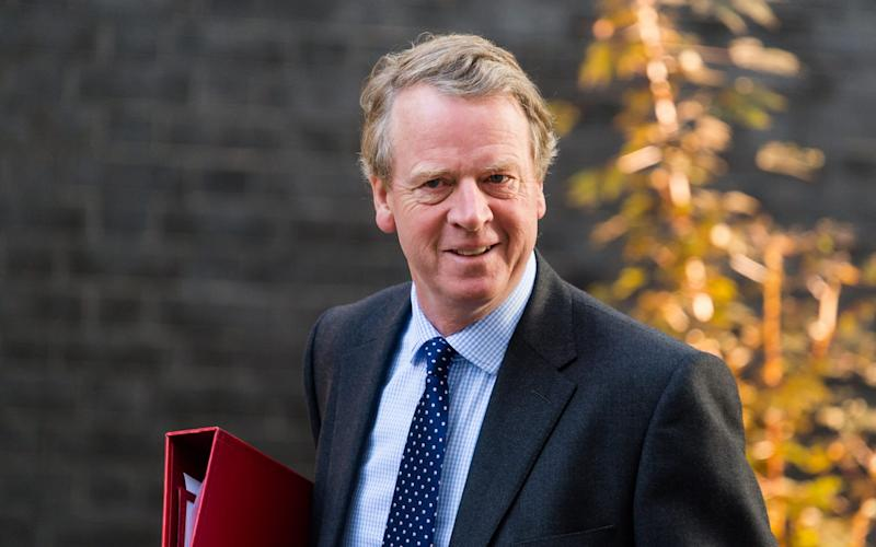 Alister Jack, the Scottish Secretary - Barcroft Media