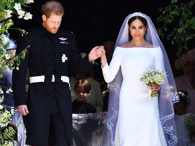 52b5a40c94927 Meghan Markle's Go-To Pumps Now Come In White — & They're Perfect For Your  Wedding Day