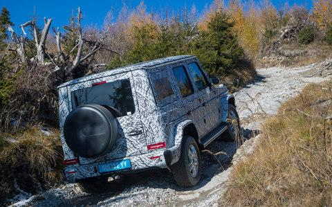 Mercedes-Benz G-Class G-Wagen 2018 review - Credit: DaimlerAG - Global Communication