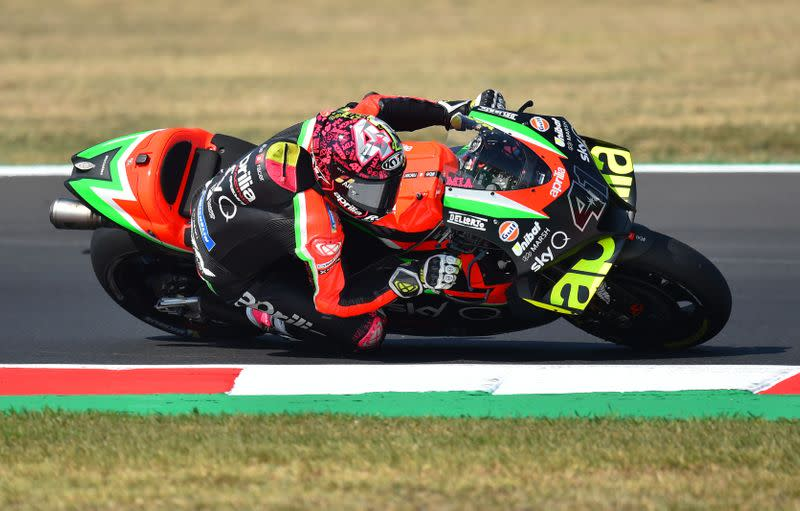 Aprilia's Espargaro says Algarve circuit 'borderline' on safety