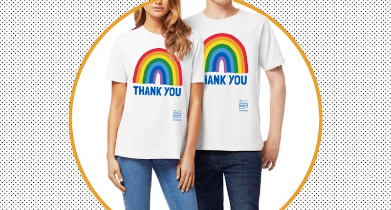The charitable T-shirt, which launched in March, has been sold by over 100,000 people. (Kindred)