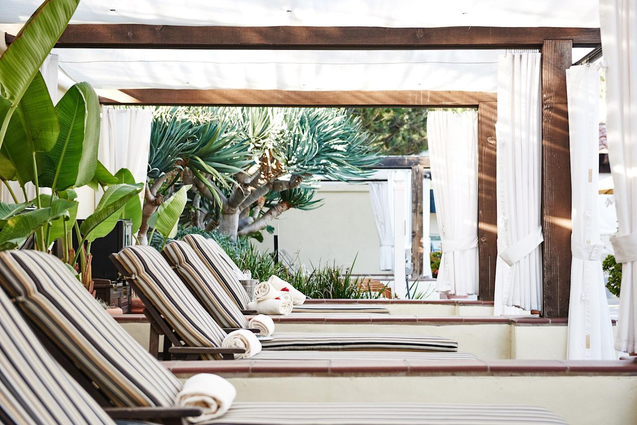 """<p><strong>What's the vibe at this place?</strong><br> Counter all that California modern with the lush gardens and Mediterranean vibes of <a href=""""https://www.cntraveler.com/hotels/united-states/la-jolla/estancia-la-jolla-hotel?mbid=synd_yahoo_rss"""">this Spanish-Colonial palace</a> in La Jolla. Estancia spans 10 acres, but the spa feels like an intimate hideaway within the property.</p> <p><strong>Take us into the room. How was the session itself?</strong><br> Body treatments use aloe, ginger, and spirulina to refresh the skin, while essential oil massages soothe tight muscles. For a quick pick-me-up, bank a 25-minute facial or back treatment that cleanses via a Clarisonic.</p> <p><strong>Nice. What about after the treatment?</strong><br> There's a eucalyptus steam room, plus men's and women's whirlpools and fireplace-equipped outdoor lounges. The main event is the (usually bustling) outdoor saltwater pool, where a bar, daybeds, and sizable cabanas ensure a steady crowd.</p> <p><strong>What do they do best here, then? And how can we make sure we get the most out of it?</strong><br> It's a popular spot for girlfriend spa days. Pack a swimsuit and some SPF to get the most bang for your buck.</p>"""