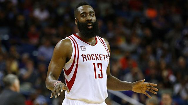 James Harden sustained the injury in Sunday's 148-142 triple-OT win over the Los Angeles Lakers, and he will be re-evaluated in two weeks.