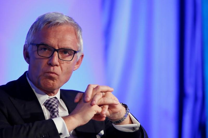 Credit Suisse's chairman Rohner attends the 2016 IIF Spring Membership meeting in Madrid