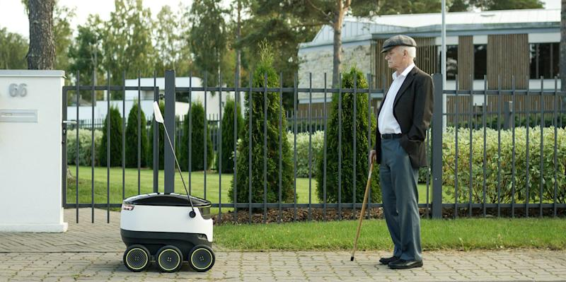 Robots Are Infiltrating the Delivery Business
