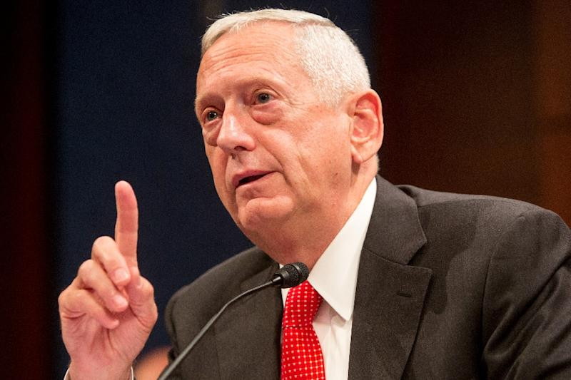 James Mattis, who is 66, commanded a marine battalion during the First Gulf War and a marine division during the 2003 invasion of Iraq. In 2010, the tough-talking native of Washington state was named to head the US Central Command (AFP Photo/Allison Shelley)