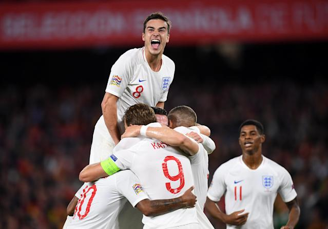 England have beaten Spain in a thrilling Uefa Nations League clash