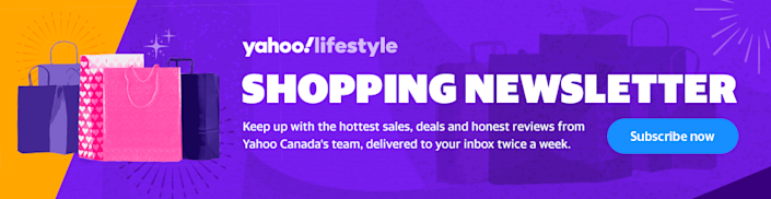 Click here to sign up for Yahoo Canada's lifestyle newsletter.