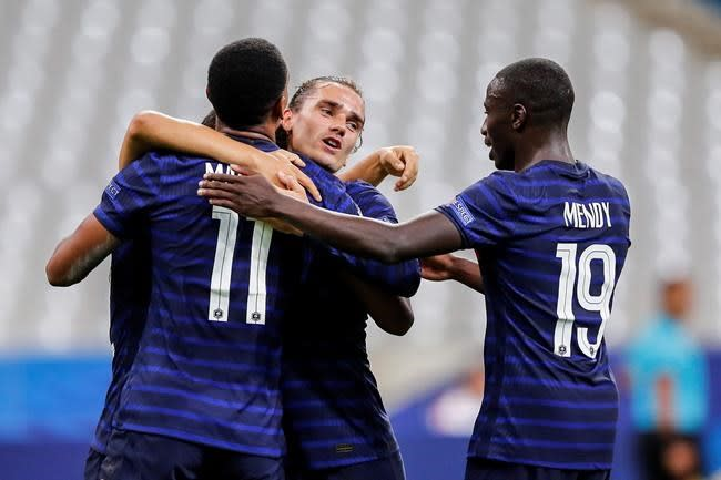 Griezmann stars as France beats Croatia 4-2 in WCup repeat