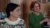 <p>Tyrone has asked Debbie to let Alina move back into the salon flat.</p>