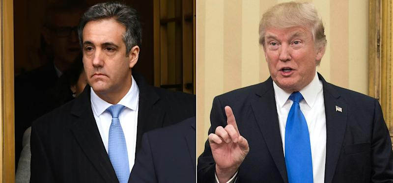 Michael Cohen says Trump directed him to pay hush money to keep women quiet during 2016 election