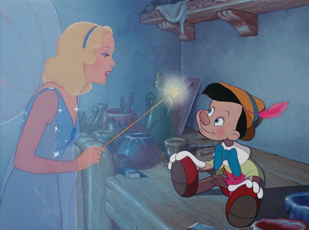 """When You Wish Upon a Star"" from ""Pinocchio"" (1940): A personal choice, since this is the song my mother supposedly sang to me when I was a baby. Or so goes the lore — I was too young to remember. Written by Leigh Harline and Ned Washington and sung by Cliff Edwards in the voice of perky sidekick Jiminy Cricket, this is probably the greatest song ever to come from a Disney animated movie. It's certainly the most identifiable with the studio, since it plays along with the logo before every Disney film. It's hopeful and earnest and unabashedly sentimental. And like the song that inspired this week's list, this one will really get stuck in your head. It also provided inspiration for one of the more daring episodes of ""Family Guy,"" titled ""When You Wish Upon a Weinstein."""