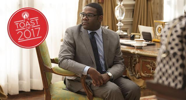 Sam Richardson as Richard Splett in <em>Veep</em> (Photo: Colleen Hayes/HBO)