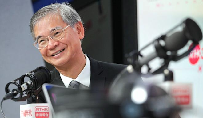 Law Chi-kwong, secretary for labour and welfare, is the only member in Hong Kong leader Carrie Lam's cabinet with an opposition background. Photo: Edmond So