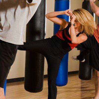 Get a move on It's easy to use stress as an excuse to skip exercise-you've got way too many other things on your mind, right? But working out actually helps balance stress hormones, Dr. Emmons says. So take a break, and walk up and down a few flights of stairs, or sign up for that kickboxing class you've been dying to try.