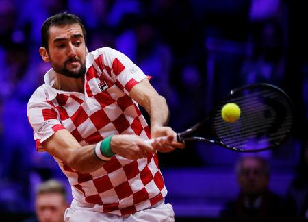 Croatia took a 2-0 lead in the Davis Cup final