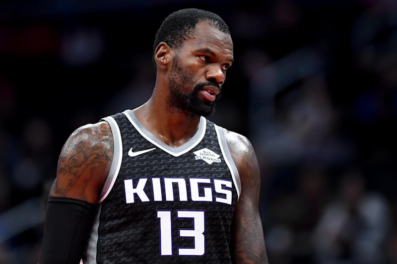 Kings center Dewayne Dedmon wants out of Sacramento. (Will Newton/Getty Images)
